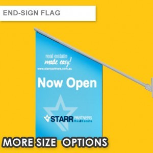 END SIGN FLAG | SHOP FRONT FLAG | POS FLAGS | WALL FLAG