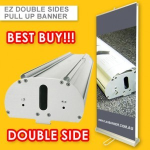 DELUXE DOUBLE SIDE PULL UP BANNER