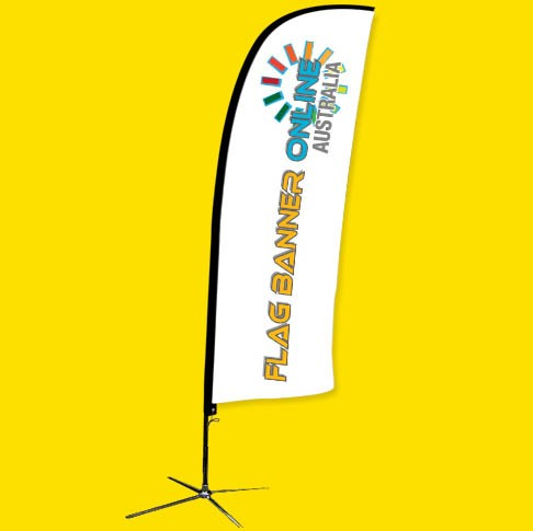 3.5M FEATHER BANNER (FEATHER FLAG BANNER)