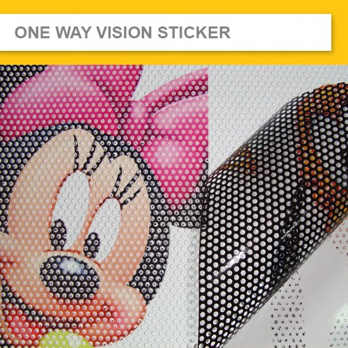 One Way Vision Sticker One Way Vision Printing See