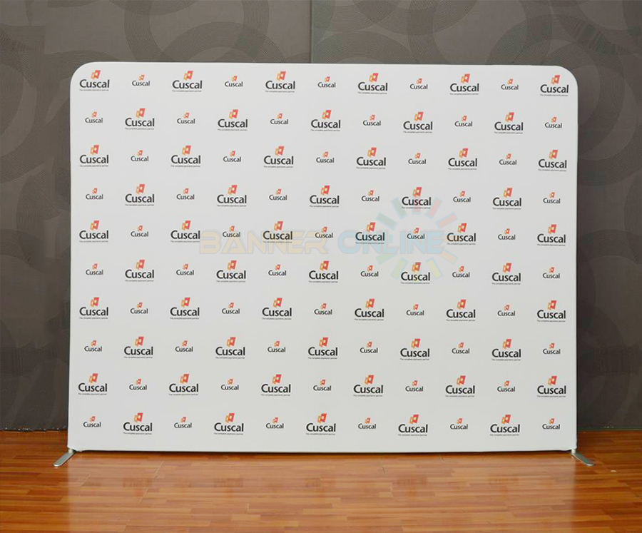 299 Stretch Fabric Media Wall Urgent Media Wall