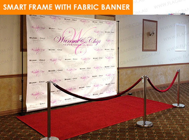 Universal Banner Fabric Media Wall
