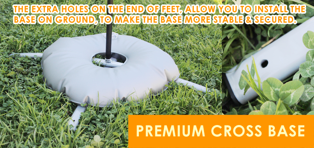 Premium Cross Base,Cross Bar Base,Water Base