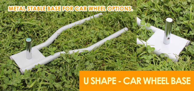 Car Wheel Base,U Shape Base