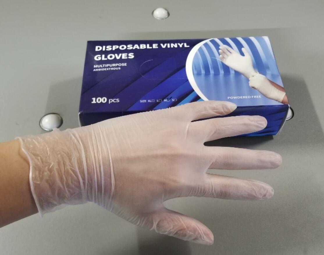 VINYL - CLEAR VINYL GLOVE ( S & M Mixed Box)