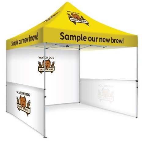 3m x 3m Custom Printed Marquee | Custom Printed Gazebo | Custom Printed Tent |