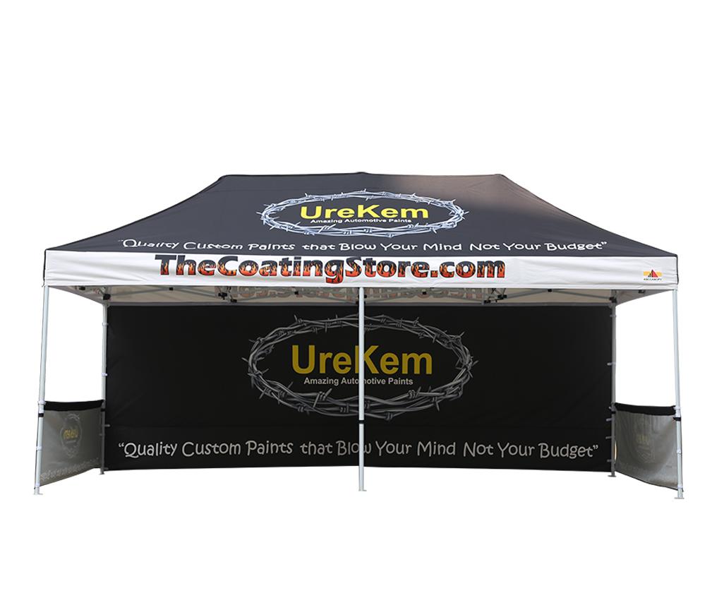 3m x 6m Hex Shape Aluminium Frame Custom Printed Marquee | Gazebo | Tent | Canopy