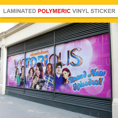 Premium Laminated Polymeric Vinyl Decal Sticker ( Indoor & Outdoor)  5 Years  (Minimum order $70+gst)