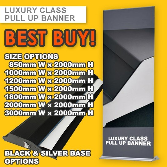 CLASSICAL LUXURY PULL UP BANNER
