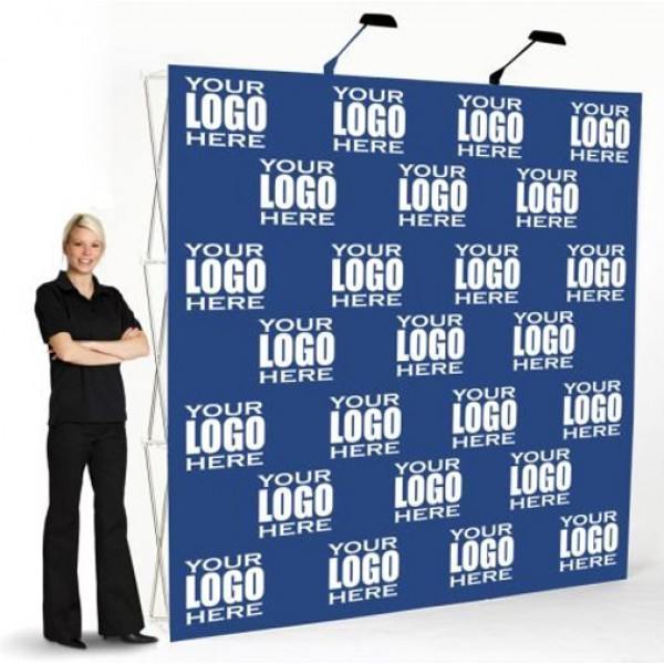 3D LUXURY POP UP MEDIA WALL (VELCRO FABRIC)