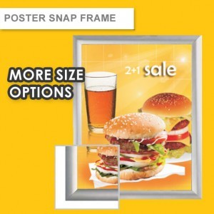 POSTER WITH POSTER SNAP FRAME