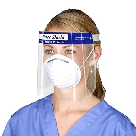 PROTECTIVE FACE SHIELD - ARTG LISTED