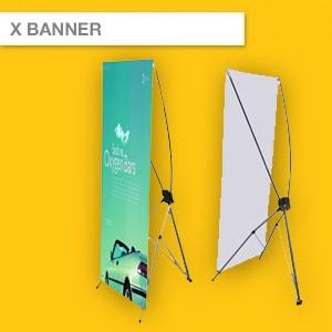 X BANNER | 600mm x 1600mm | 800mm x 1800mm