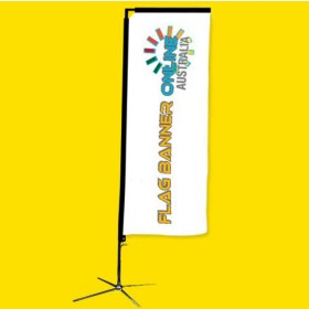 3.5M RECTANGULAR BANNER (RECTANGLE FLAG BANNER)