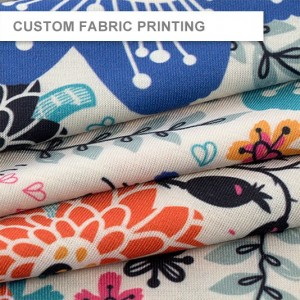 Custom Fabric Printing - Single Side - 110gsm Fabric