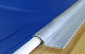 SAIL TRACK OUTDOOR  VINYL BANNER - KEDAR EDGE BANNER - MAX SIZE 3.1M X  50M