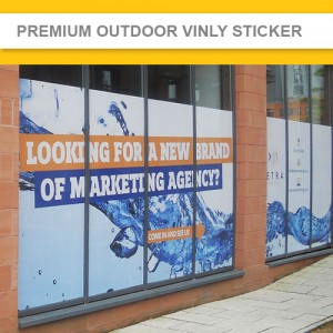 Premium Outdoor Vinyl Sticker  - UV PRINTER DIRECT PRINTED