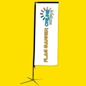 4.5M RECTANGULAR BANNER (RECTANGLE FLAG BANNER)
