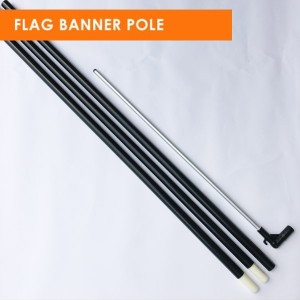 Rectangular Banner Flag Pole