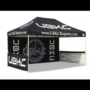 3m x 4.5m Hex Shape Aluminium Frame Custom Printed Marquee | Gazebo | Tent | Canopy
