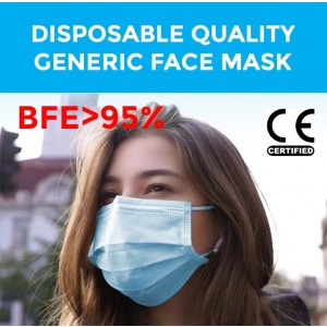 LEVEL 1 TYPE I Disposable Face Mask, Protective Face Mask Wholesale Supply General Protective Purpose