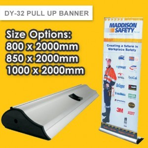 DY-32 LUXURY PULL UP BANNER