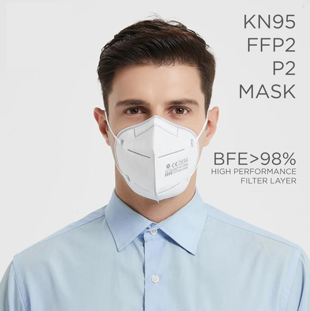 MEDICAL FFP2 P2 FACE MASK RESPIRATOR