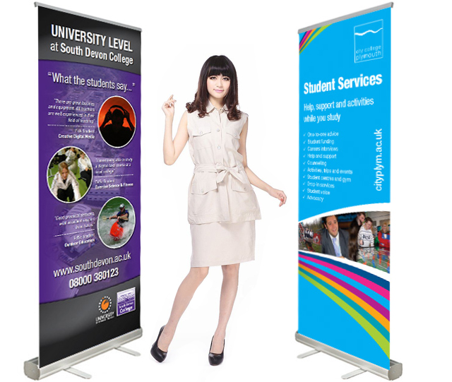 PREMIUM PULL UP BANNER, PREMIUM ROLL UP BANNER