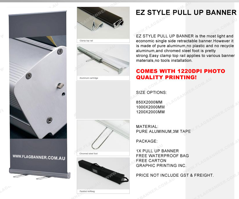 Cheap Pull Up banner & Premium Pull up Banner