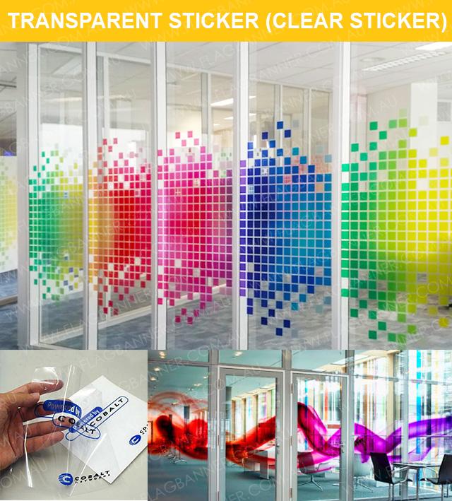 Transparent Sticker Printing , Clear Sticker Printing