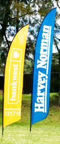 feather banner australia